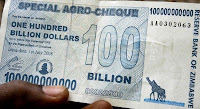 Zimbabwe $100 Billion Dollar Note - $100,000,000,000