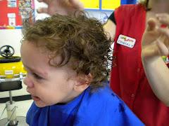 Carson's 1st Haircut