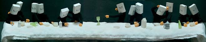 """""""santa cena""""   215x55 cn  .  2005"""