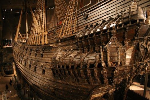 Empty nest expat vasa warship for Vasa ship