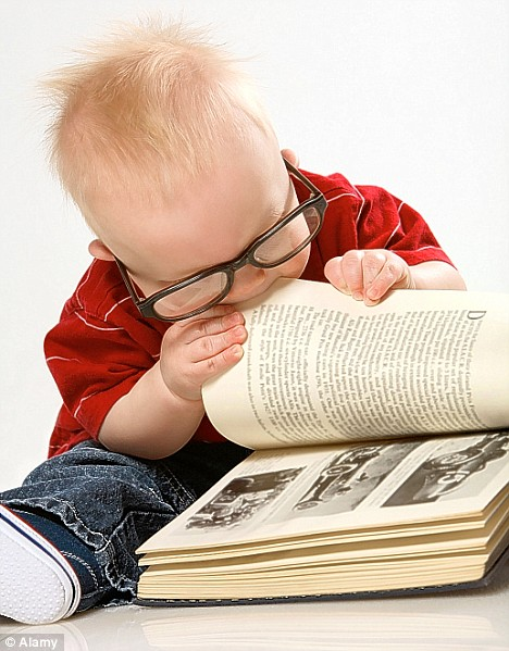 Book And Child