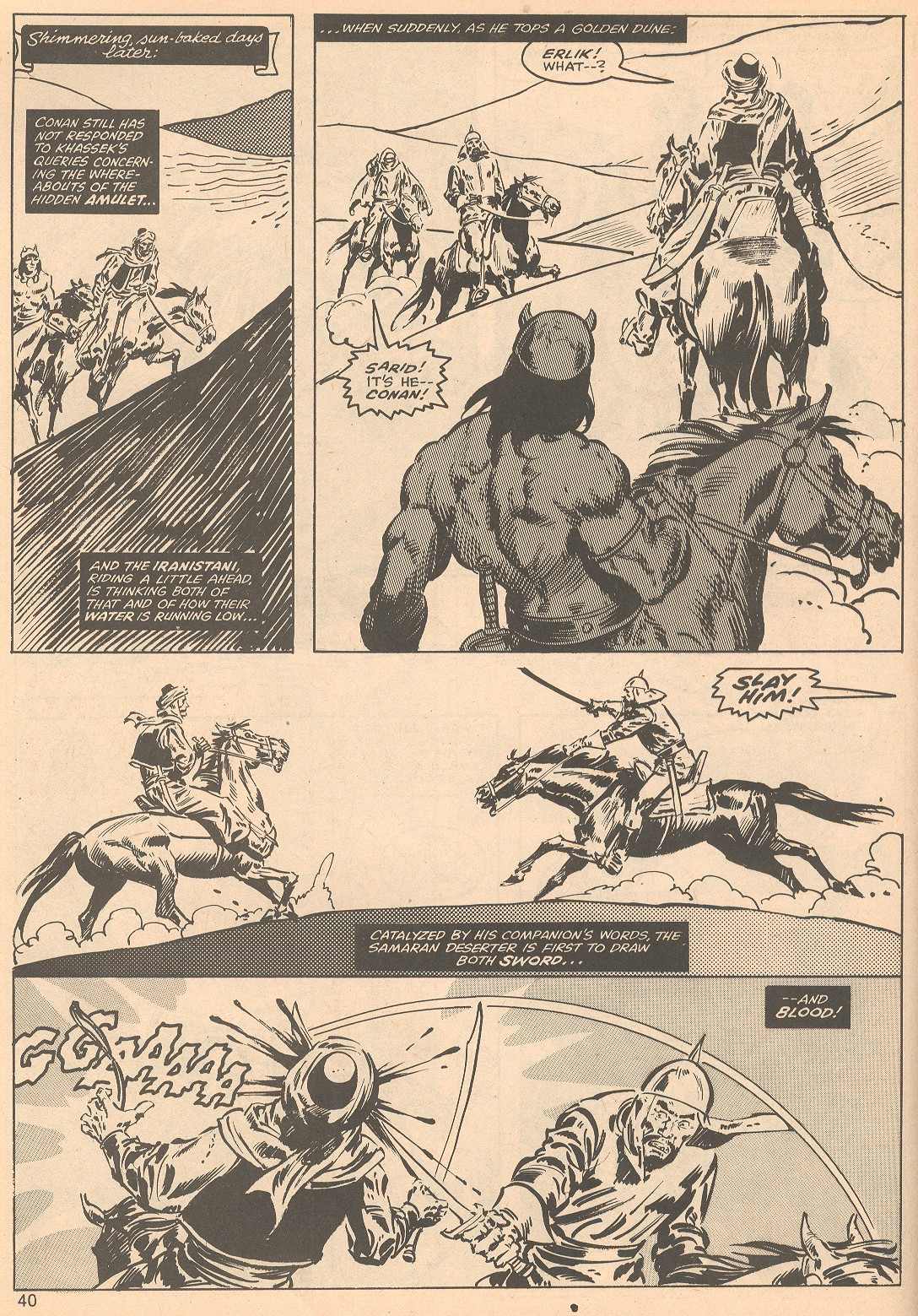 The Savage Sword Of Conan Issue #56 #57 - English 40