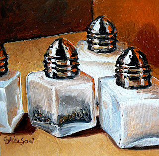 Knights in White Satin oil painting by Carol Nelson