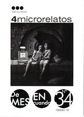 4 MICRORRELATOS (colección de mes en cuando, 2009)