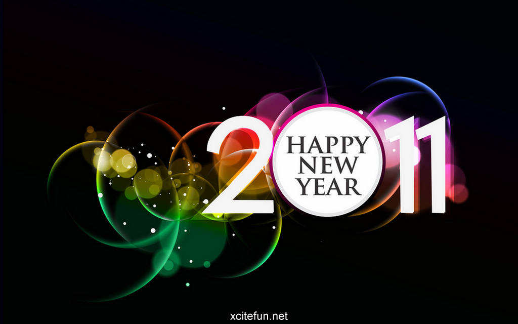 Happy New Year Wallpapers 2011 - Creative Collection