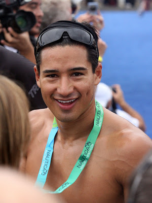 SuperMario Lopez: The Nautica Malibu Triathlon