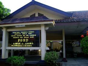 PGSD FKIP UNS Kampus VI Kebumen