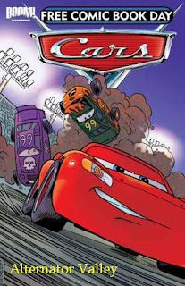 though that in itself has nothing to do with disney cars or die cast for that matter they are making available a disney cars comic book