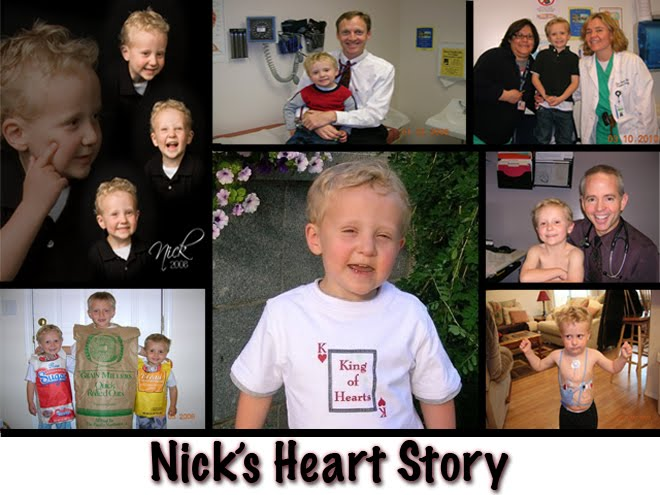 Nick's Heart Story
