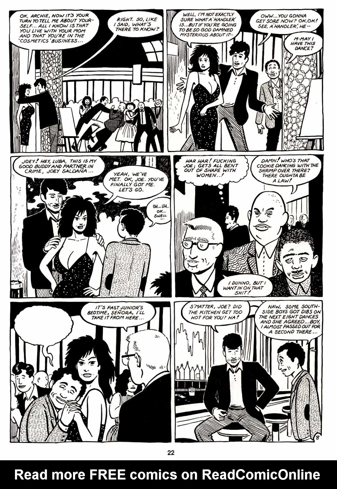 Love and Rockets (1982) Issue #6 #5 - English 24