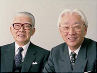 Hai nhà đồng sáng lập Sony