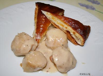 recettes  Pâtes aux coquillages **