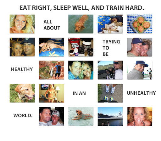 Eat Right, Sleep Well, Train Hard