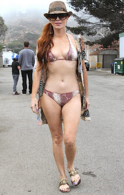 Sexy HOT BIKINI MODEL Phoebe Price Pics out in Malibu