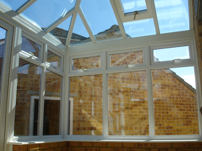 Picture 1 - Erection of Conservatory - Glass Roof
