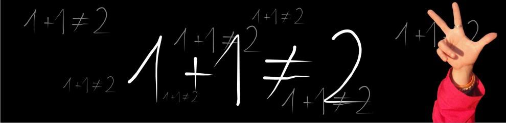 1+1 no es = 2