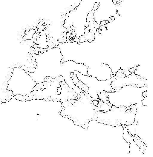 Worksheet. Documentacin para la DidcticaLibart Mapa Mar Mediterrneo