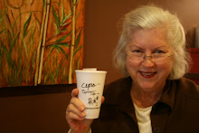 RCAA Member Mary Ann Galle shows her work at Cups, Brandon