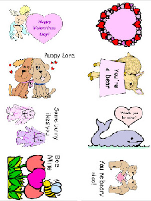 valentines valentine's day printable cards