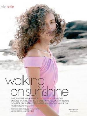 Lakshmi Menon Elle Magazine