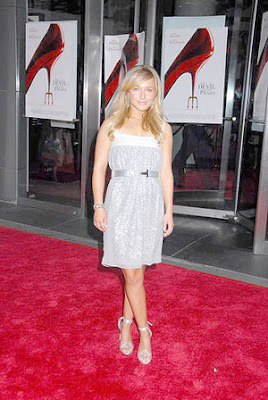Hayden Panettiere The Devil Wears Prada New York Premiere