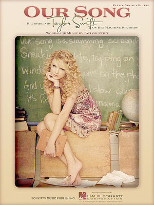 HOLLYWOOD: Taylor Swift Our Song Chords