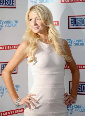 Paris Hilton USO