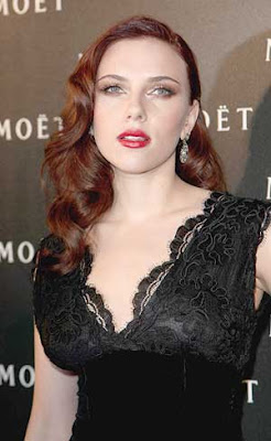 Scarlett Johansson Moet and Chando Photos