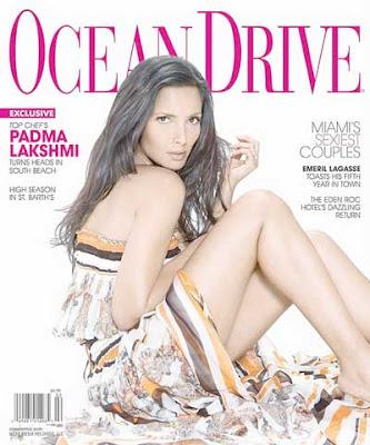 Padma Lakshmi Ocean Drive Magazine Pictures