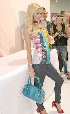 Paris Hilton Gripping Eyewear