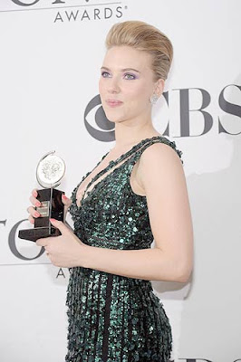 Scarlett Johansson Tony Awards