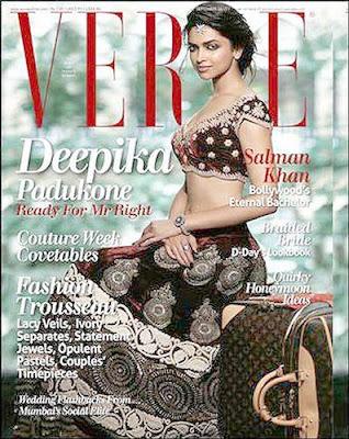 Deepika Padukone Verve Magazine