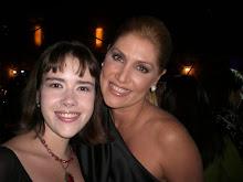 Con Maite Delgado