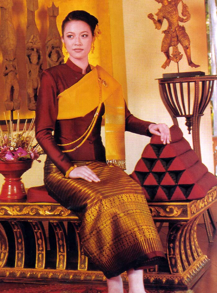 Fascinating culture of thailand for Thai style wedding dress
