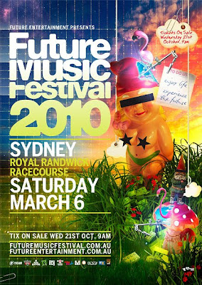 Future Music 2010 - Sydney Future Music Festival 2010 dates, tickets
