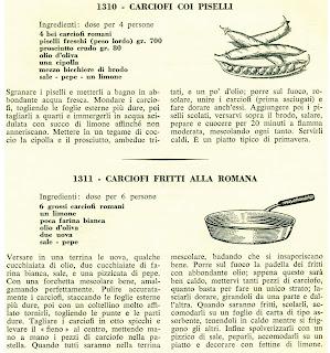 Diario dei sapori i carciofi ricette dal lazio for Le ricette italiane