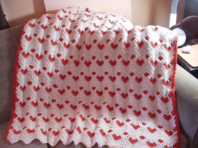Red Heart Free Crochet Ripple Afghan Patterns : Inspirabiate