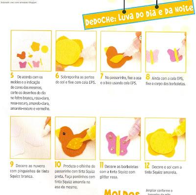 fantoche10007 Fantoche: Luvas de feltro. para crianças