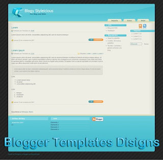 Theme Plantilla Blogy-Styleicious Blogger Templates