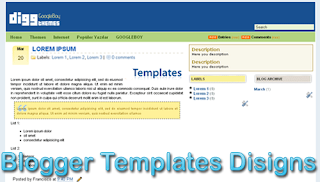 Theme Digg Blogger Templates