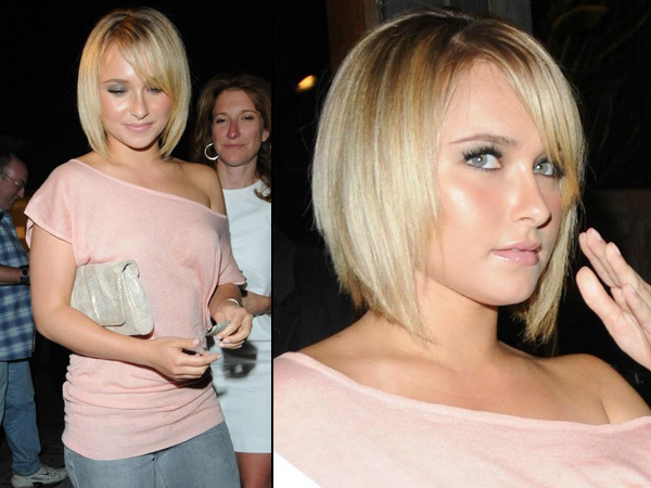 hayden panettiere hair 2011. Long hair is
