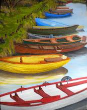 Irish Boats -- Original Sold