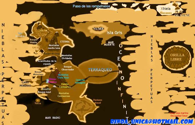 MAPA DEL MUNDO DE EDELWEISS DE NUME