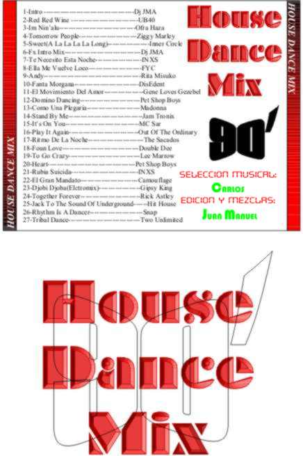 90' House Dance Mix