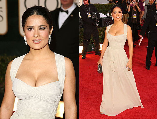 salma hayek height. The Height of Fashion: Salma