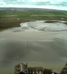 Saint Michele, marea baja