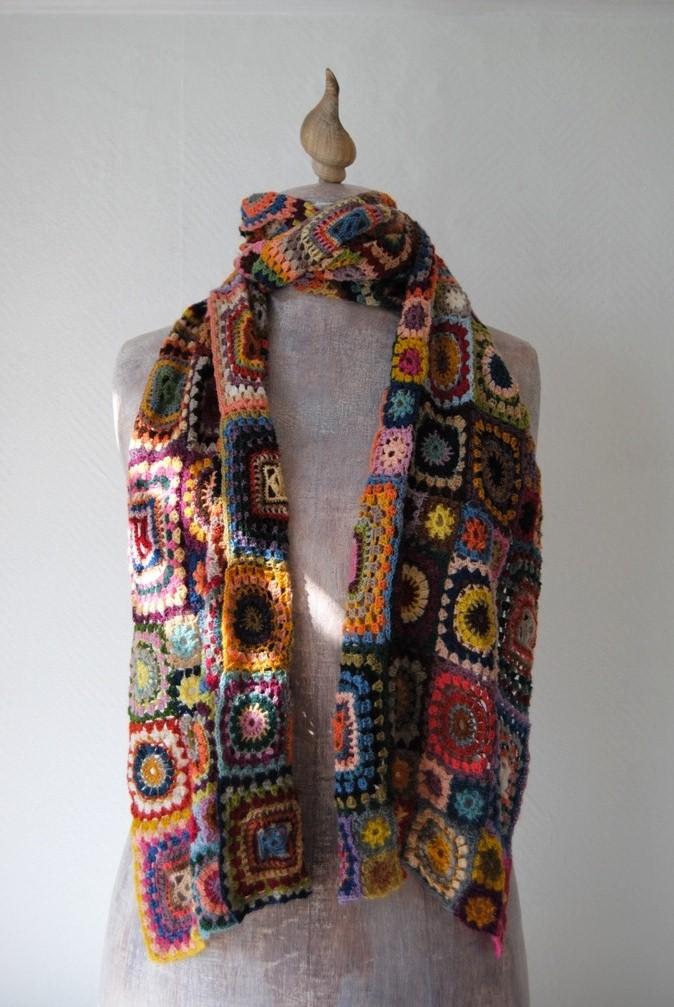 Crochet Pattern For Bohemian Shawl : ...shades of lynx...: Bohemian Rhapsody Crochet Wrap