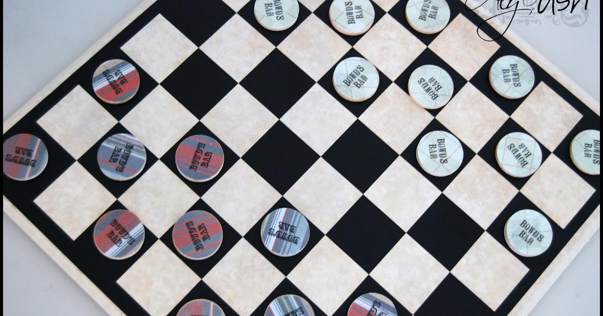 Wooden checker board wooden checkerboard in - Aly Amp Ash See It Again Saturday Custom Tile Vinyl Checker