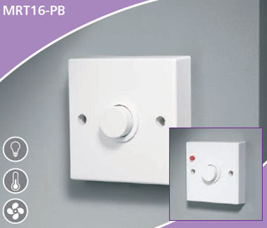 Push Time Lag switch for heat, light, ventilation - MRT16PB