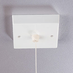 Pull Cord Timer, Time Lag, For Heat or Light; Time Delay Switch